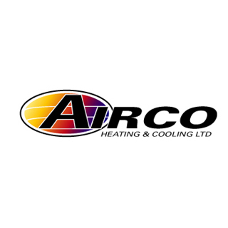 airco plumbing and heating logo design