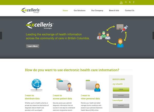 website redesign excelleris