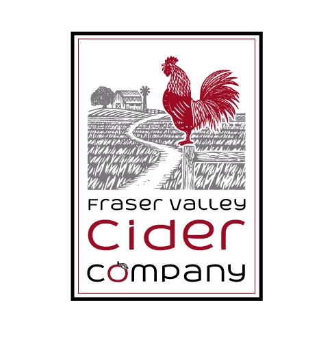 logo design fraser valley cider