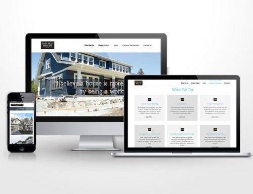 Silver Valley Homes Website Revamp